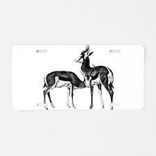 Springboks Aluminum License Plate