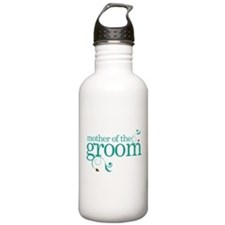 Mother of the Groom Swirl Water Bottle