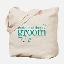 Mother of the Groom Swirl Tote Bag