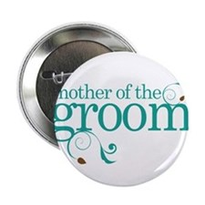 "Mother of the Groom Swirl 2.25"" Button"