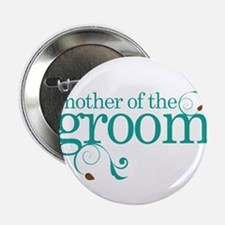"""Mother of the Groom Swirl 2.25"""" Button"""