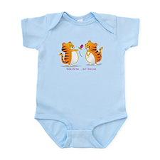 Cute Tiger cat Infant Bodysuit