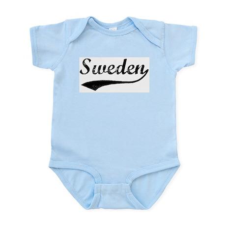 Vintage Sweden Infant Creeper
