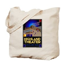 Highland Theater Tote Bag