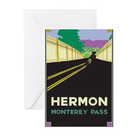 Hermon, Monterey Pass Greeting Cards (Pk of 10)