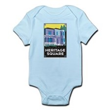 Heritage Square Infant Bodysuit