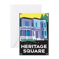 Heritage Square Greeting Card