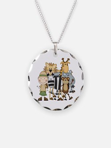 Boy on Safari Necklace
