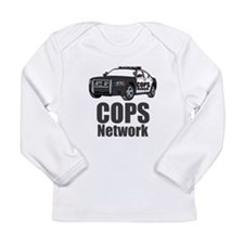 COPS car Long Sleeve Infant T-Shirt