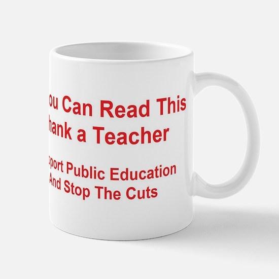 Cute Public education Mug