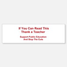 Cute Education Sticker (Bumper)