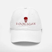 Hooligan Red Skull Baseball Baseball Cap