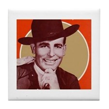 Bob Wills Classic Tile Coaster