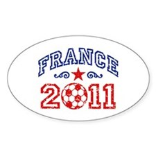 France Soccer 2011 Decal