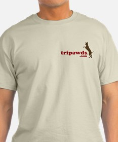 2-sided Tripawds Have More Fun T-Shirt