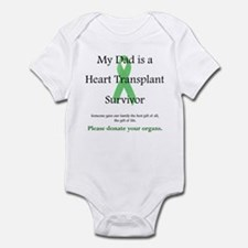 Dad Heart Transplant Infant Creeper