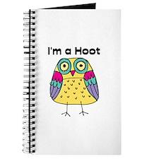 Yellow Owl I'm a Hoot Journal