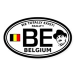Belgium Infiltration Sticker