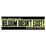 Belgian TRUTH Bumpersticker