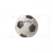 Cute Allstar Aluminum License Plate