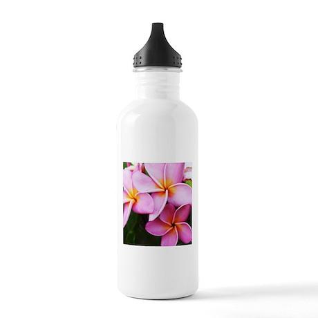 Plumeria Stainless Water Bottle 1.0L
