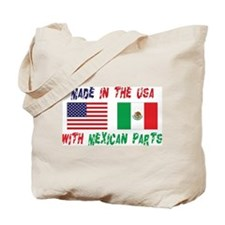 American Mexican Tote Bag