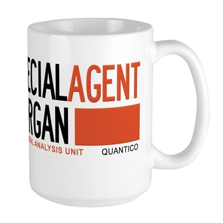 Special Agent Morgan Criminal Minds Large Mug