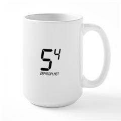 Large Dactyl Fractal Mug