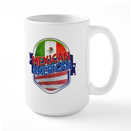 Mexican American Large Mug