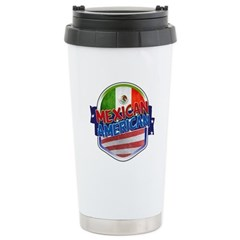 Mexican American Stainless Steel Travel Mug