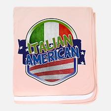 Italian American baby blanket