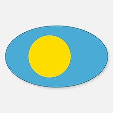 Palau Flag Decal