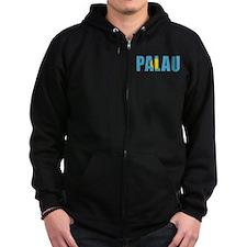 Palau (English) Zip Hoody
