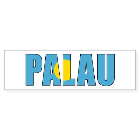 Palau (English) Sticker (Bumper 10 pk)