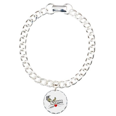New Section Charm Bracelet, One Charm