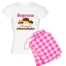Chocolate Soprano Women's Light Pajamas