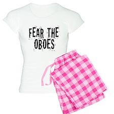 Funny Oboe Fear Women's Light Pajamas
