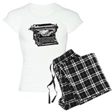 Old Fashioned Typewriter Pajamas