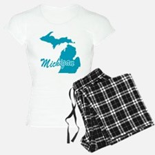 State Michigan Pajamas
