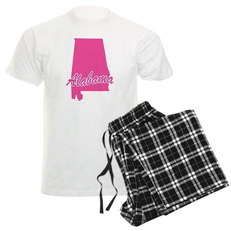 Pink Alabama Men's Light Pajamas