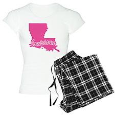 Pink Louisiana Pajamas