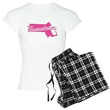 Pink Massachusetts pajamas