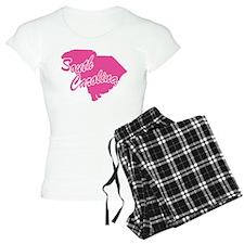 Pink South Carolina pajamas