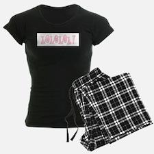 Pink LOLOLOL Pajamas