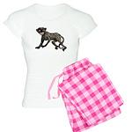 Creepy Monkey Women's Light Pajamas