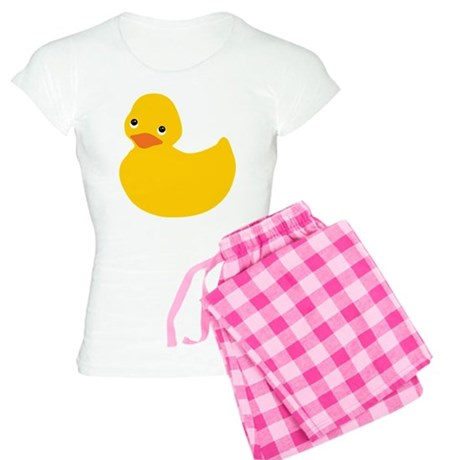 Yellow Duckie Women's Light Pajamas
