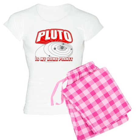 Pluto is my Home Planet Women's Light Pajamas