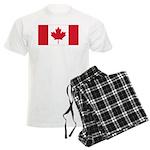 Canadian Flag Men's Light Pajamas