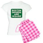 Boston Drivers Are Insane Women's Light Pajamas