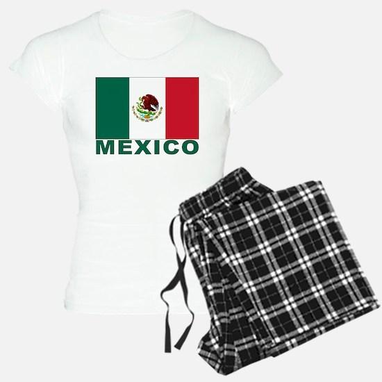 Mexico Flag Pajamas